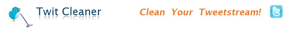 MASJO Twitter cleaner